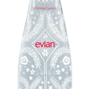 Christian Lacroix x Evian Limited Edition Water
